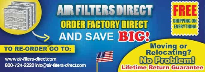 Air Filters Direct-Order Factory Direct And Save BIG!
